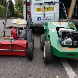 Lawn aeration glasgow