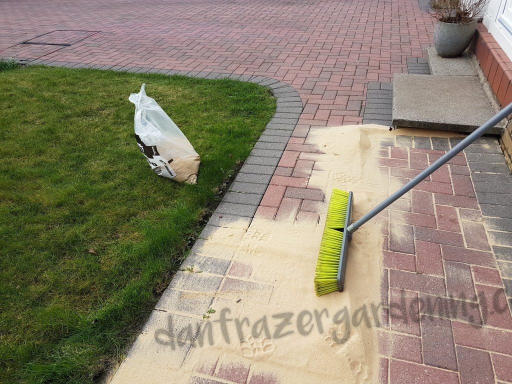 Lenzie power wash